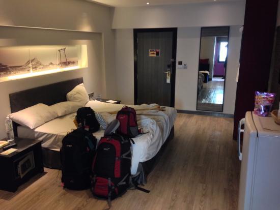 Nouvo City Hotel: Double room on 7th floor