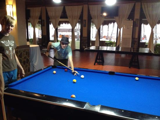 billiards table tennis darts bar movies picture of bohol beach rh tripadvisor com ph