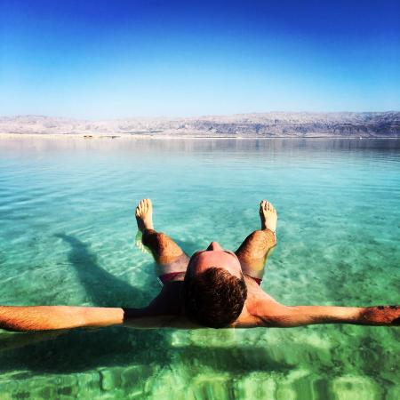 Hod Hamidbar Resort and Spa Hotel: Wonderful feeling of Dead Sea water