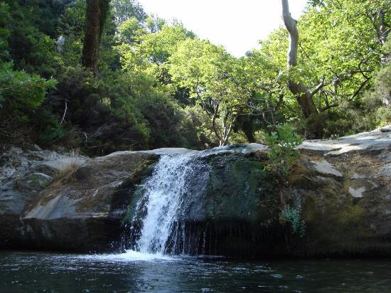 Dimosaris Canyon: Water ponds