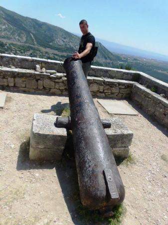 Klis, Croacia: cannon