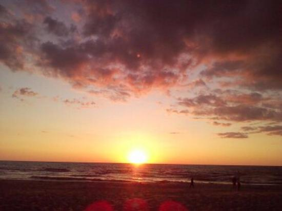 Мичиган: Lake Michigan sunset