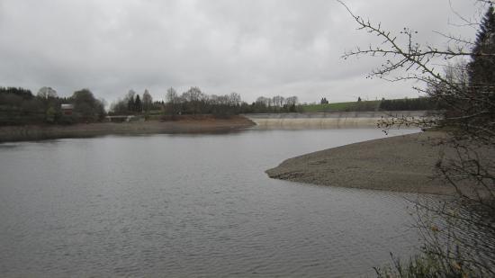 Hotel Butgenbacher-Hof: Her meer in de regen