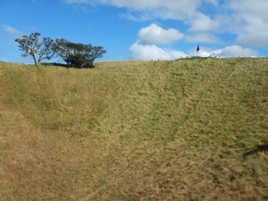 Mount Eden: Det græsklædte krater