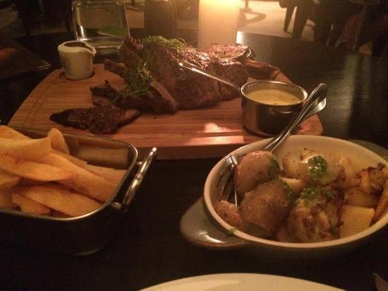 Barna, Irlanda: Beautiful New Years Eve meal in The West
