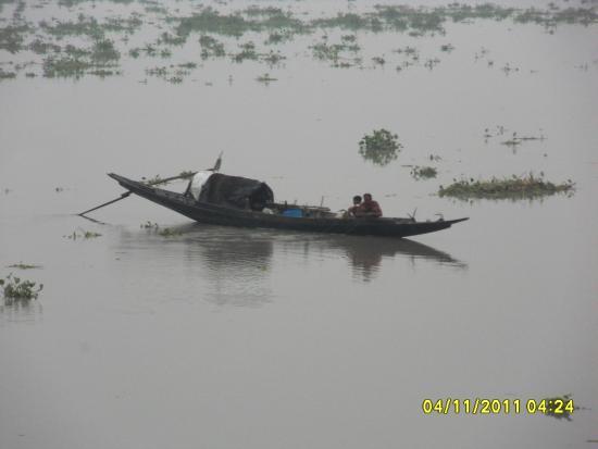 Taki, Indien: Icchamoti River - Bangladesh Border