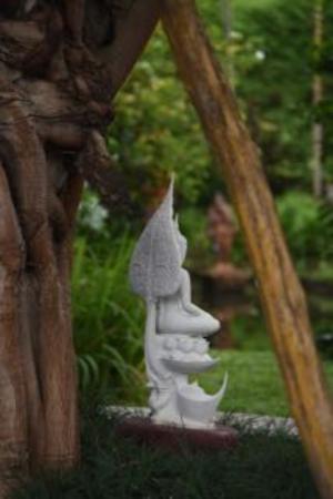 Saraphi, Ταϊλάνδη: buddha image and Bhikanesh
