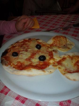 Uta, Włochy: Pizza per bambini