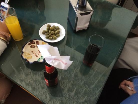 Burunchel, İspanya: aperitivo