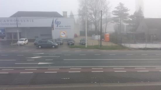 Corbais, Bélgica: vista da janela