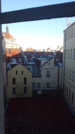 Old Prague Hotel: vista da janela
