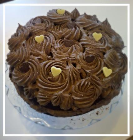 Hrabstwo Leitrim, Irlandia: Teashed Chocolate Cake