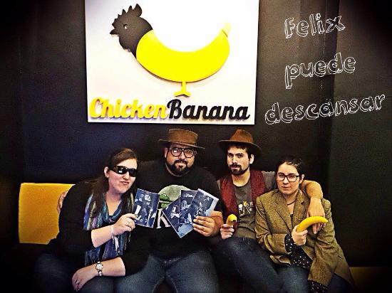 Chicken Banana Barcelona Room Escape