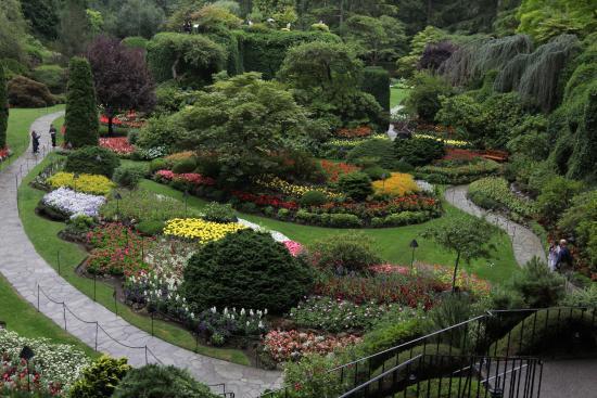 Butchart Gardens: Brilliant Landscaping