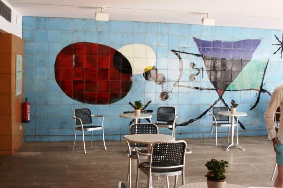 Café im Museum Fundació Pilar i Joan Miró a Mallorca in Palma - Picture of Pi...