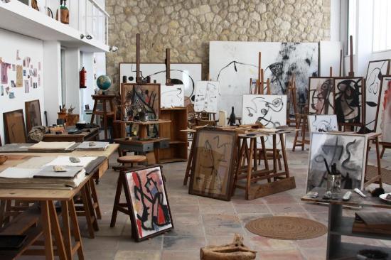 Atelier-Werkstatt im Museum Fundació Pilar i Joan Miró a Mallorca in Palma - ...