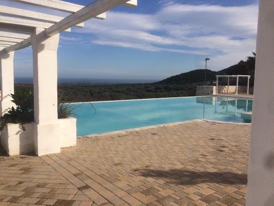 Zona piscina foto di masseria santa teresa monopoli for Piscina santa teresa albacete