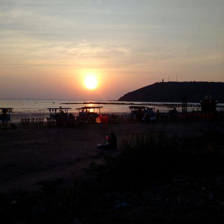 Mandavi Beach : Mandvi sun set