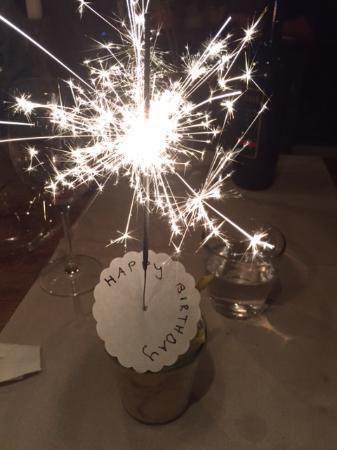Wienacht-Tobel, Zwitserland: Geburtstagsüberraschung