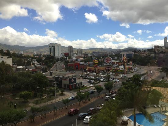 Clarion Hotel Real Tegucigalpa: Our view from the room