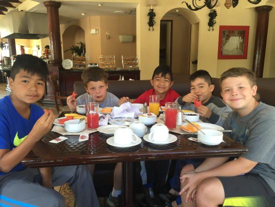 Clarion Hotel Real Tegucigalpa: Breakfast