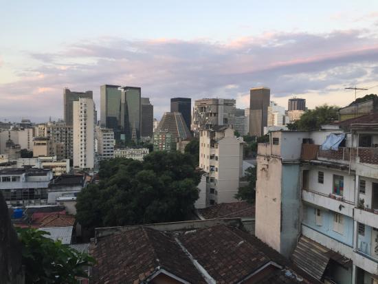Bossa in Rio Hostel: Vista do centro