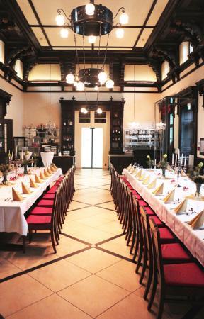 Museumscafe und Restaurant im Grenzbahnhof Bayerisch Eisenstein