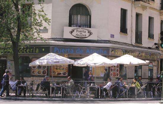 Restaurante Arroceria Puerta de Atocha: Fachada