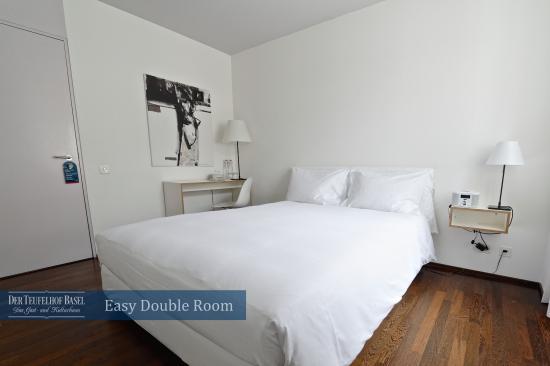 Der Teufelhof Basel: Easy Doppelzimmer