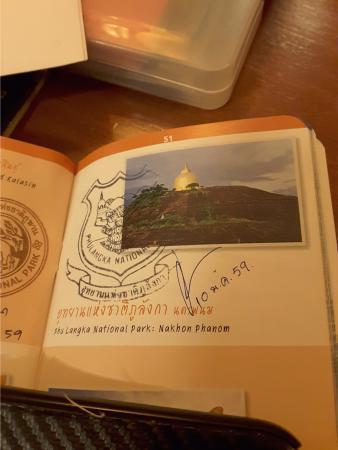 Ban Phaeng, Tailandia: Phu Langka commemorative mark