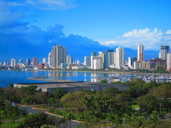 Sofitel Philippine Plaza Manila: View from room #1010