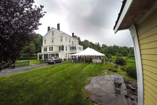 Warwick, État de New York : Outside Peach Grove Inn