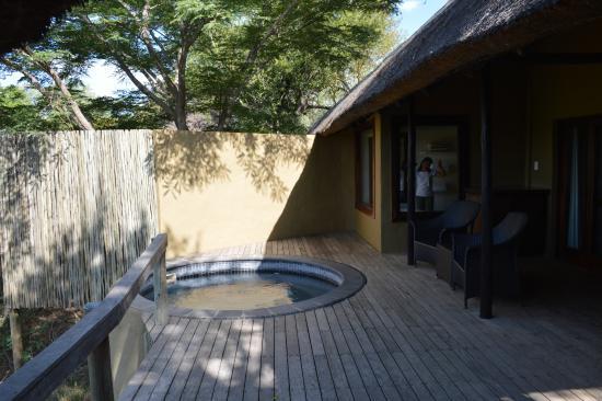 Londolozi Private Game Reserve, Sudáfrica: Varty Camp room