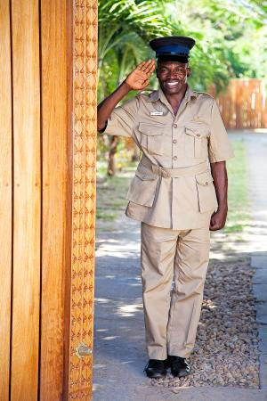 AfroChic Diani: Always there to greet with a friendly smile