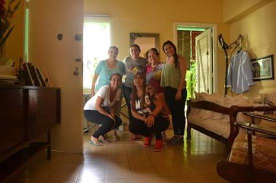 Casa Petronila: Con Petro y Rosa, al final de la estadía!