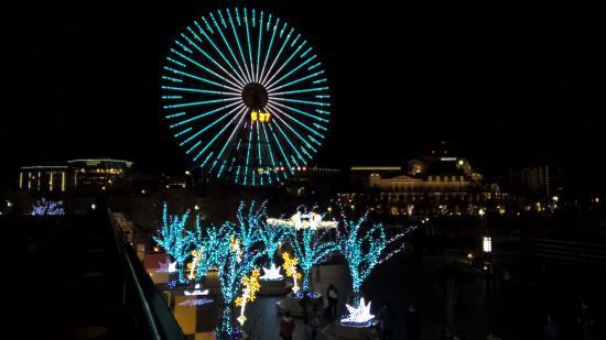 Queen's Square Yokohama: บรรยากาศภายนอก