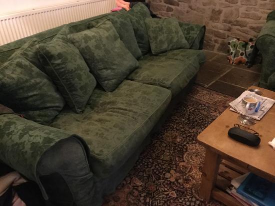 Peak Forest, UK: Furniture