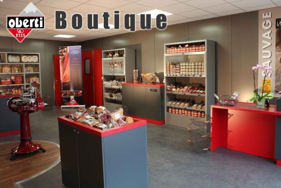 Lacaune, Frankrijk: Boutique