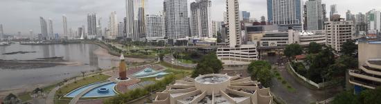 Plaza Paitilla Inn: Vista desde la ventada del hotel