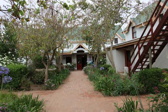 Malagas, Republika Południowej Afryki: hotel approach
