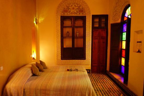 Riad Dar Tafilalet: the room