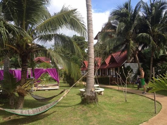 Phangan Cabana Resort: jardin