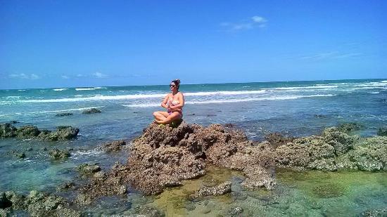 Coqueiro Beach: Praia do coqueiro - vila itaqui