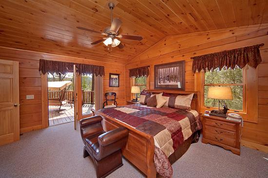 funderosa bedroom picture of cedar falls cabin rentals pigeon rh tripadvisor com
