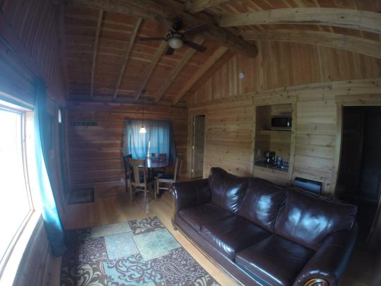 Glacier Trailhead Cabins: Interior #13 and #14