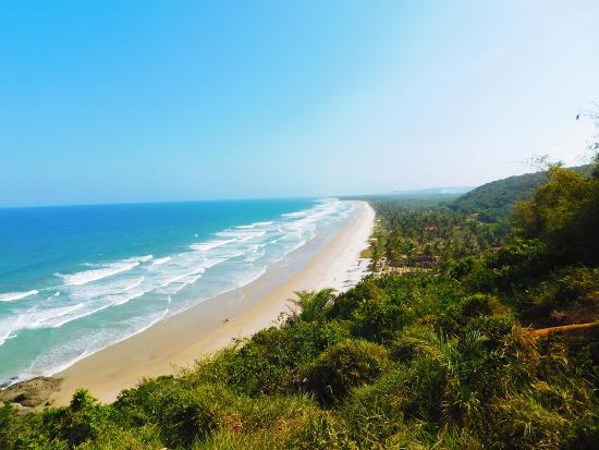 Serra Grande, BA: Praia Pé de Serra