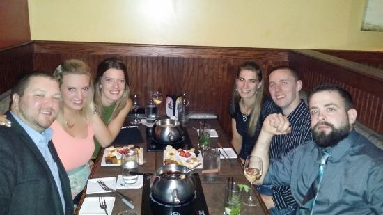 Our Lovely 3 Couples Picture Of The Melting Pot Seattle