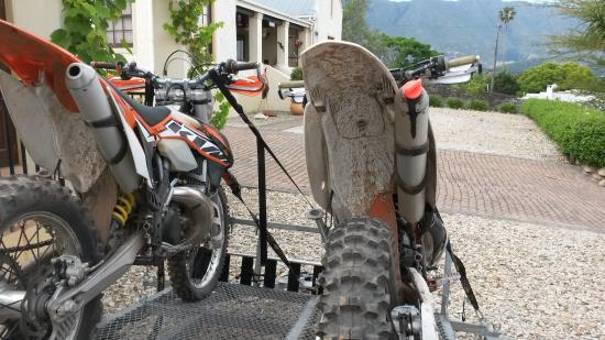 Langeberg Guest Lodge : Bikers Paradies