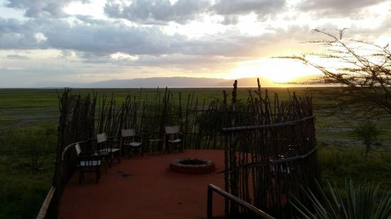 Rift Valley Photographic Lodge: Feuerstelle