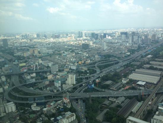 Baiyoke Sky Hotel: vistas
